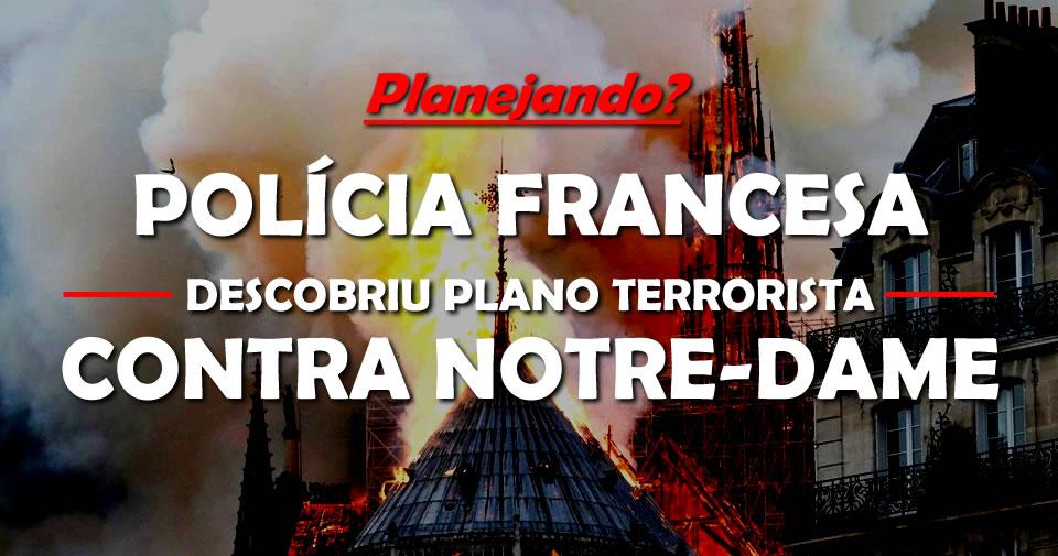 Na última sexta, uma muçulmana foi presa em Paris planejando um atentado terrorista