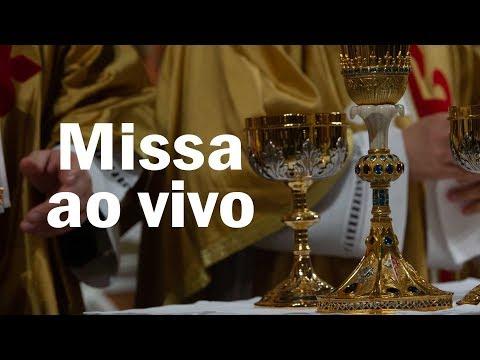 Missa ao Vivo. Escreva suas intenções para a Santa Missa nos comentários.