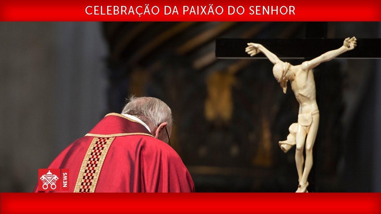 Papa Francisco – Celebração da Paixão do Senhor 2019-04-19
