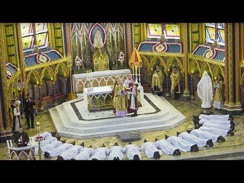 Ordenação Presbiteral – ao Vivo – Santa Missa . Escreva suas intenções comentários.