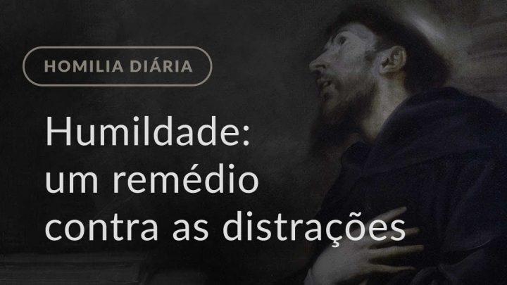 Humildade: um remédio contra as distrações (Homilia Diária.1190: Quarta-feira da 11.ª Semana Comum)