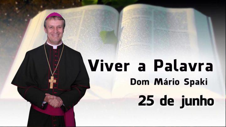 O Evangelho do dia com Dom Mário Spaki 25-06-2019