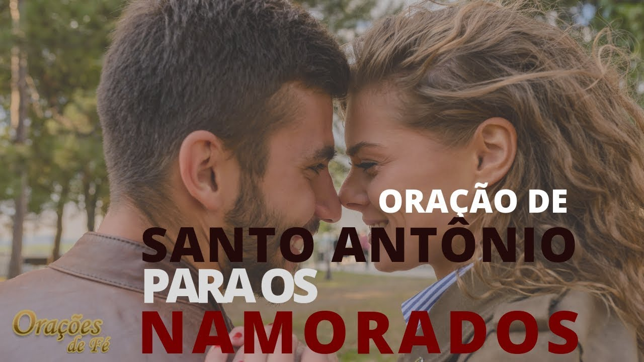 Oração de Santo Antônio para os namorados