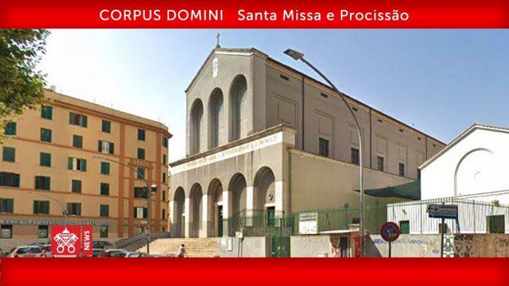 Papa Francisco – Santa Missa e Procissão 2019-06-23