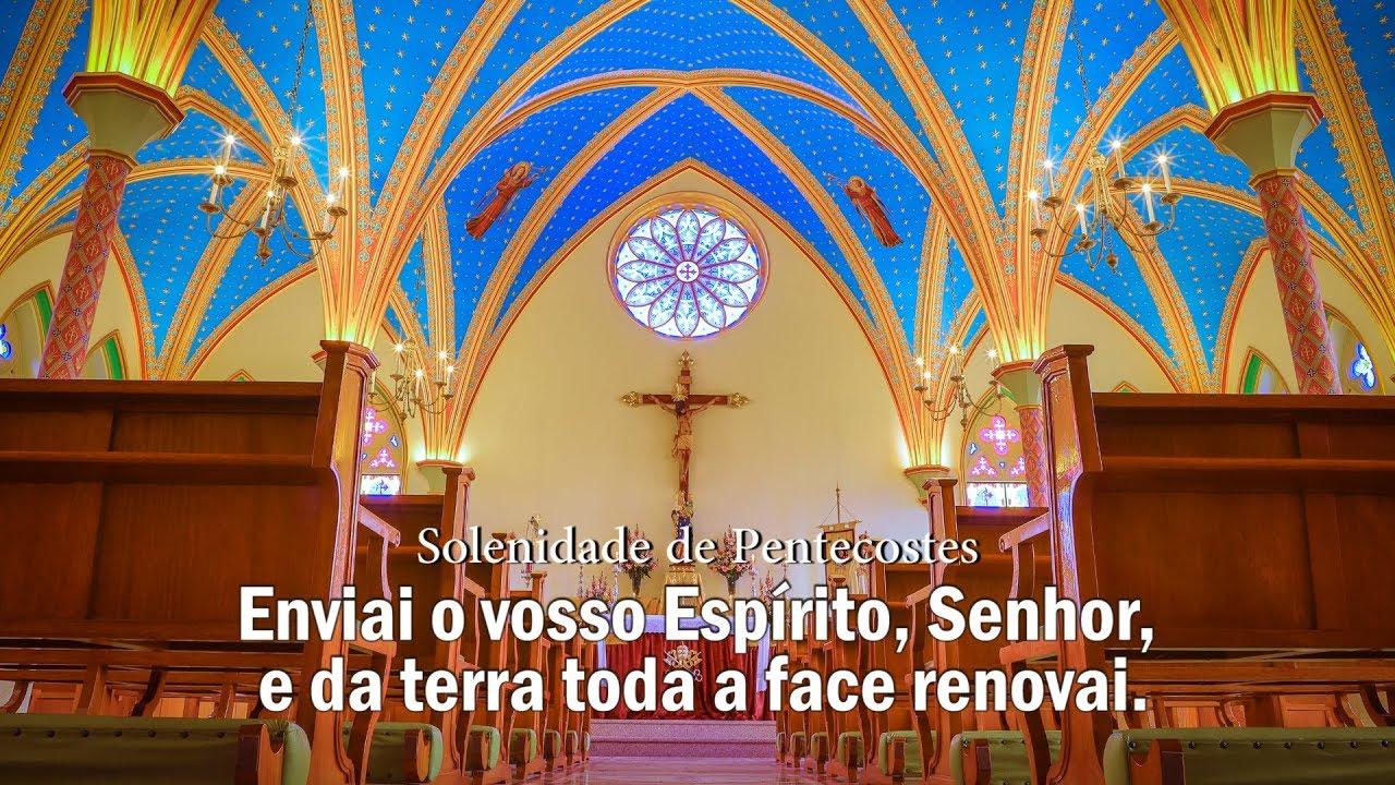 Salmos Enviai o vosso Espírito, Senhor, e da terra toda a face renovai. Arautos do Evangelho