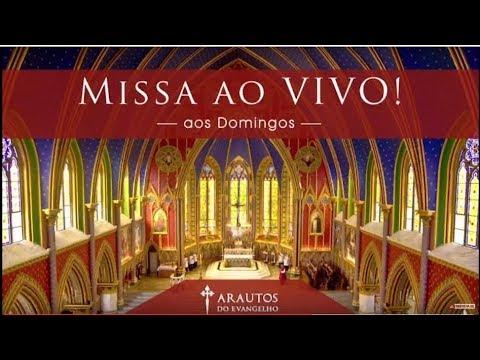 Santa Missa ao Vivo.  Escreva suas intenções nos comentários. # COMPARTILHE