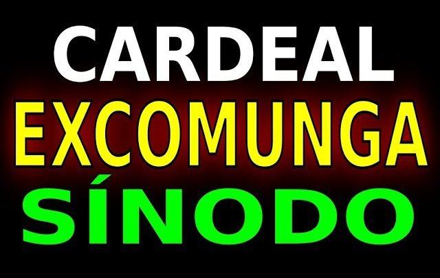 CARDEAL EXCOMUNGA SÍNODO
