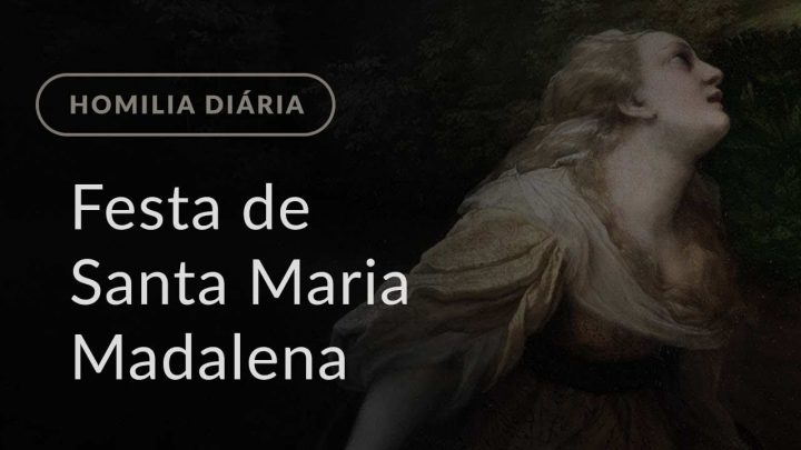 Festa de Santa Maria Madalena (Homilia Diária.1218)