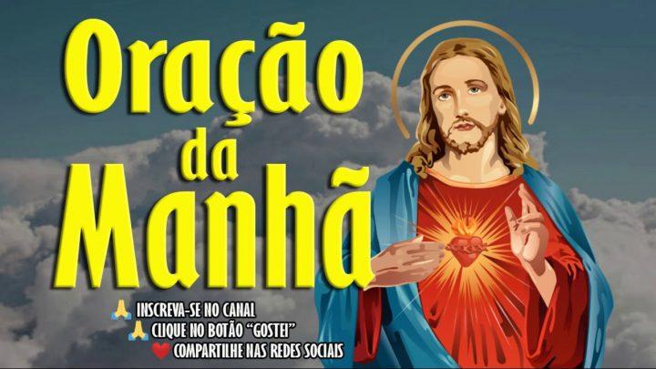 ORAÇÃO DA MANHÃ – MÃOS DE JESUS VEM TOCAR EM MIM