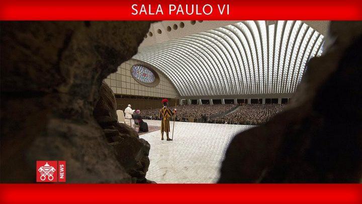 Dall'Aula Paolo VI, Udienza Generale del Santo Padre