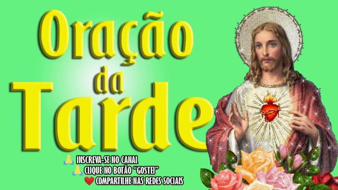 ORAÇÃO DA TARDE – ORAÇÃO AO PRECIOSÍSSIMO SANGUE DE JESUS