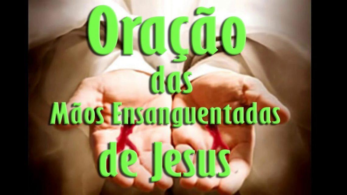 ORAÇÃO DAS MÃOS ENS4NGUENT4D4S DE JESUS