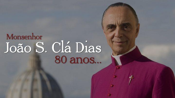 Os 80 anos de Monsenhor João S. Clá Dias – Arautos do Evangelho