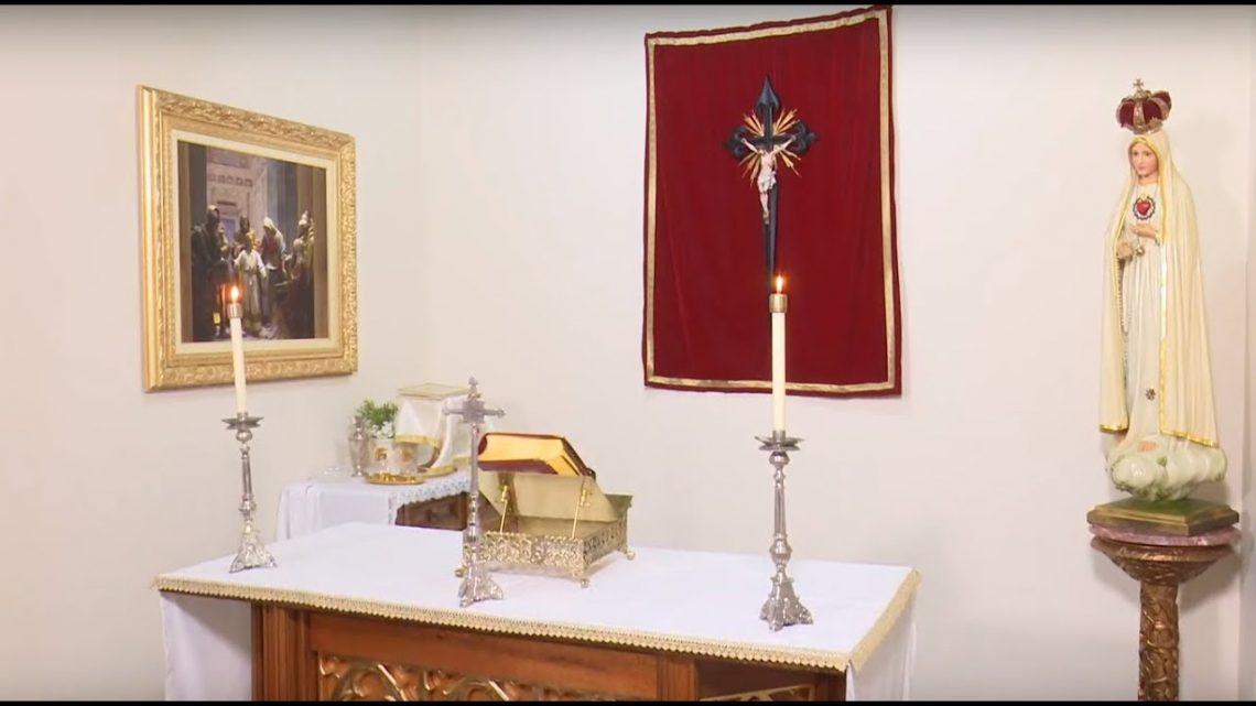 Santa Missa – quem não se fizer como um desses pequeninos. Deixe suas intenções.