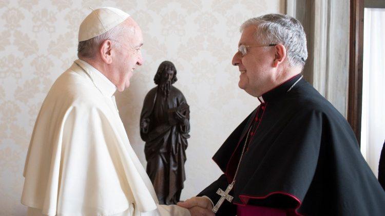Dom Giambattista Diquattro, Arcebispo titular de Giromonte, até agora Núncio Apostólico na Índia e Nepal, dirigirá a Nunciatura em Brasília.