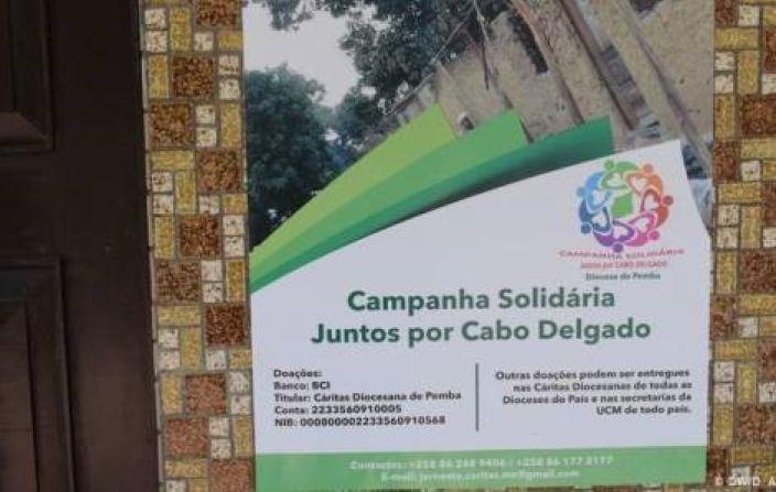 """A Campanha """"Juntos por Cabo Delgado"""" é uma iniciativa humanitária e solidária com o objetivo de fortalecer ações humanitárias na resposta a uma crise que cresce e foge de controle."""