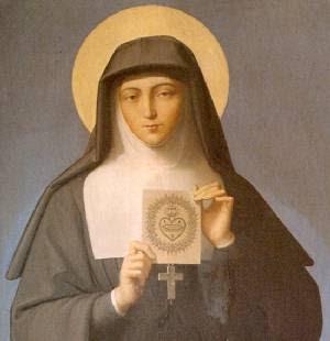Seu corpo está colocado sob o altar da capela do convento onde viveu, e os peregrinos que ali vão rezar a ela alcançam insignes graças.