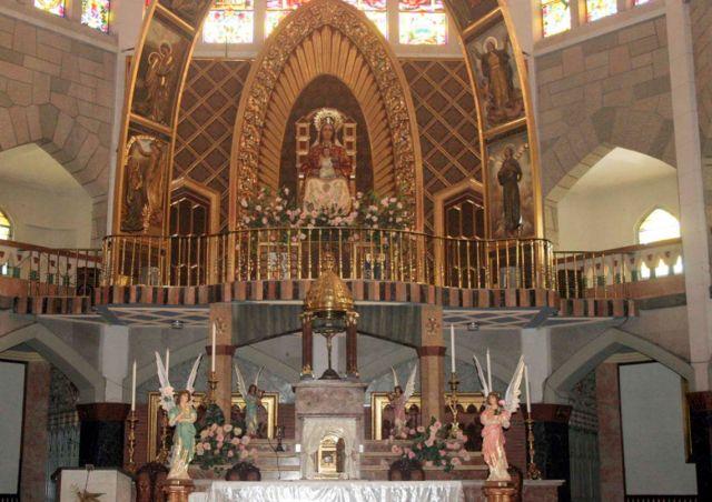 """Os profanadores do Santuário atacaram o Tabernáculo do Santíssimo Sacramento mas """"respeitaram"""" e não levaram as hóstias consagradas."""