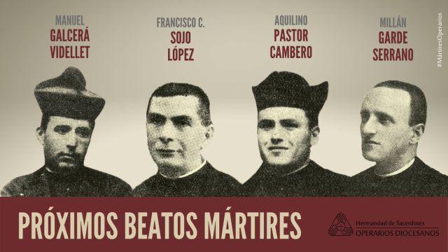 Além de uma leiga italiana conhecida por viver a dor e o sofrimento com fé serão reconhecidos como Beatos quatro sacerdotes, martirizados por comunistas na Espanha.