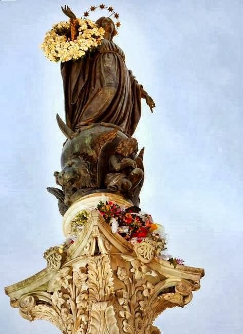 Na solenidade da Imaculada Conceição Devido à emergência sanitária, o pontífice optou por realizar um ato privado de devoção.