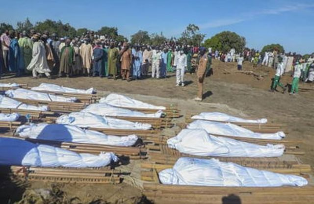 """O ataque do Boko Haram, foi realizado em Maiduguri, região onde cristãos têm sido atacados com frequência e sofrem """"forte violência terrorista""""."""