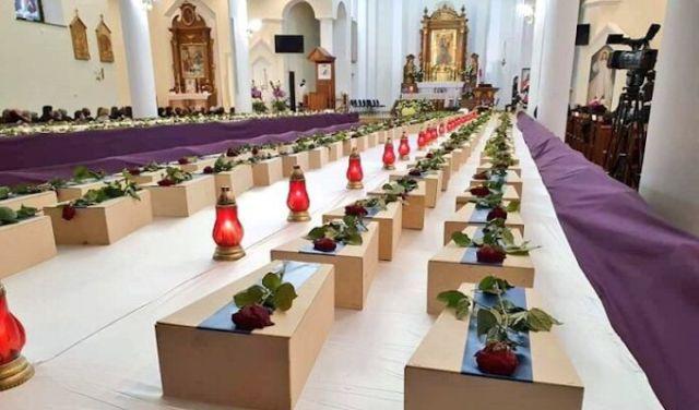 Essas crianças têm direito a um sepultamento digno, pois são pessoas desde o momento da concepção, disse o Bispo Dom Gurda na homilia da Missa de Réquiem.