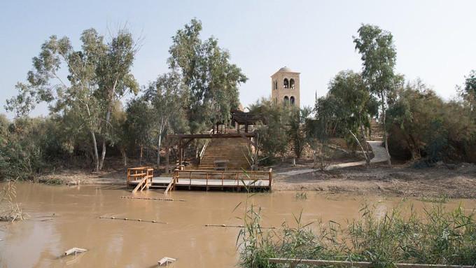 Devolvida oficialmente aos franciscanos da Custódia da Terra Santa, a Igreja situada no local onde Jesus recebeu o batismo de João Batista.