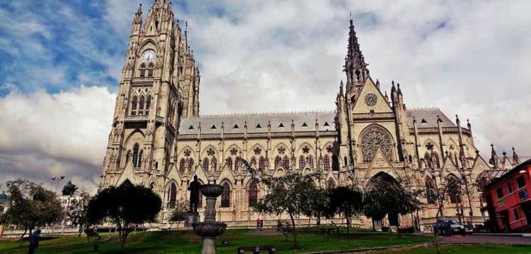 """Indicação de Quito como sede do evento Eucarístico recorda uma data especial: em 2024 comemora-se o """"150º aniversário da consagração do Equador ao Sagrado Coração de Jesus""""."""