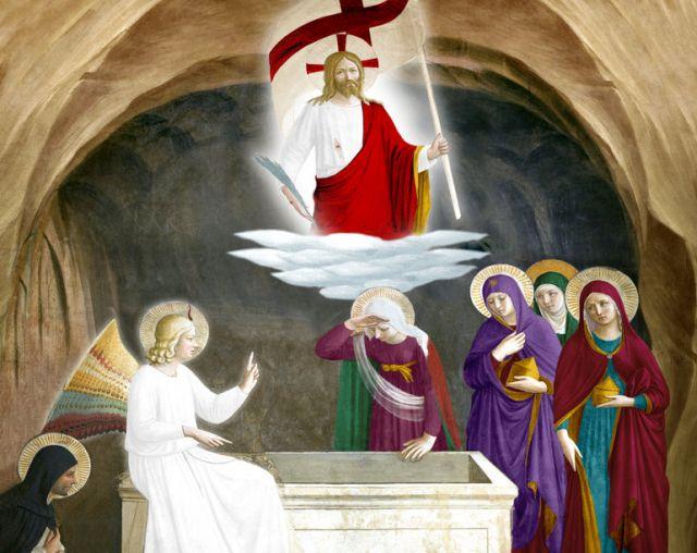 Na noite do Sábado Santo, também conhecida como Vigília Pascal, honra-se a sepultura de Jesus Cristo, sua descida ao Limbo e celebra-se sua gloriosa Ressurreição.